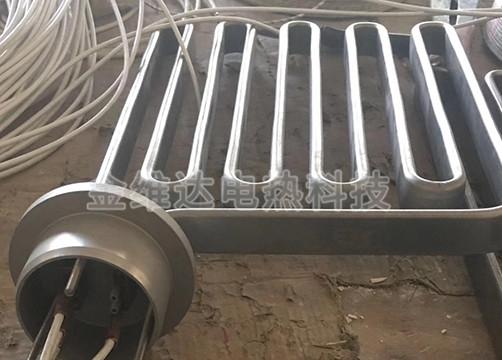 扁式单头电热管