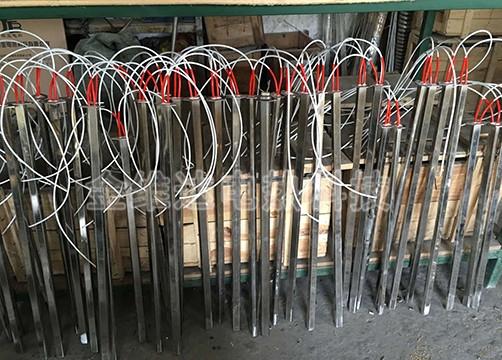 方型单头电热管